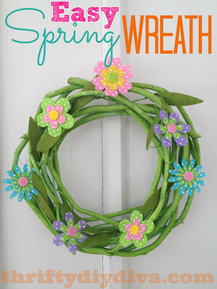 Do It Yourself Spring Wreath Crafts
