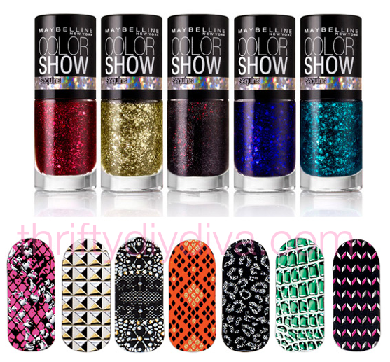 Maybelline Color Show Nail Stickers