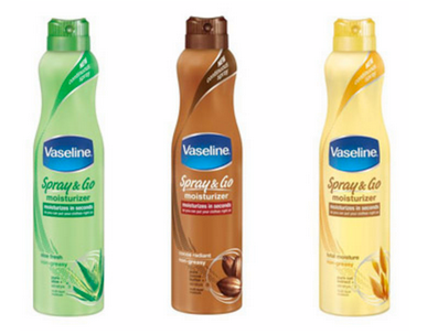 Vaseline Spray Lotion Coupons
