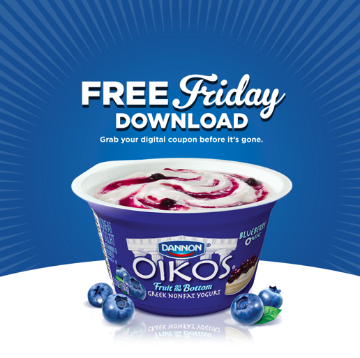 Free Oikos Greek Yogurt After Coupon