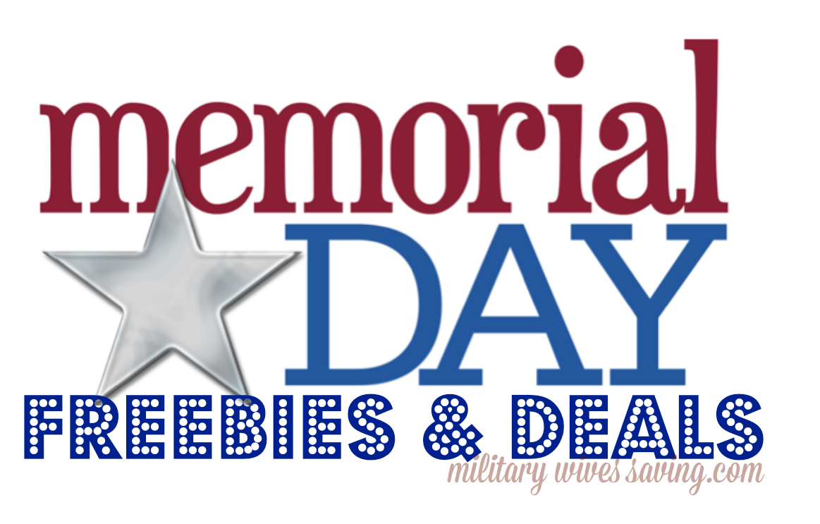 Memorial Day Freebies Coupons Deals