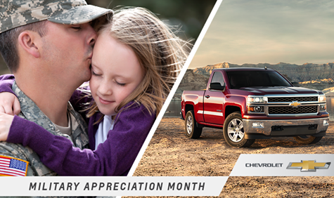 Chevrolet Military Discount