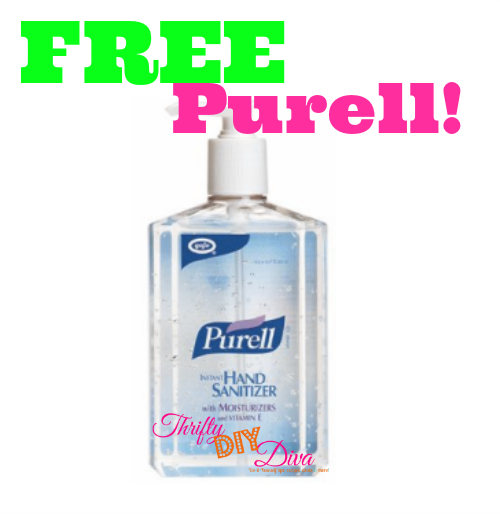 Free Purell With Coupons