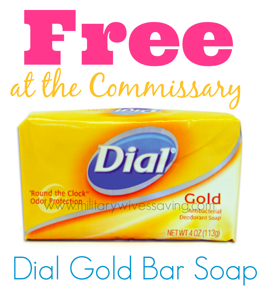 Commissary Deals Dial Soap www.militarywivessaving.com #commissary