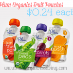 Commissary Deals Plum Organics Baby Food Pouches