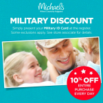 Michaels Stores Military Discount