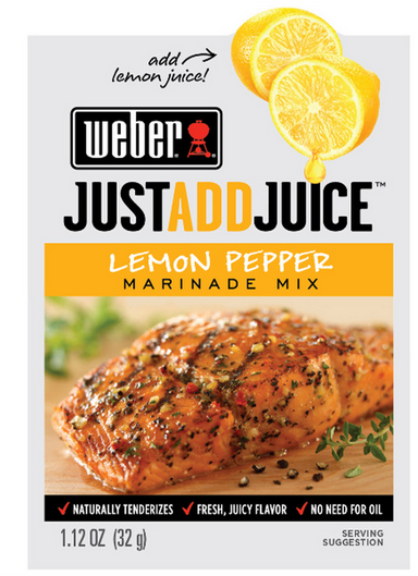 Commissary Deals Weber Marinade Seasonings