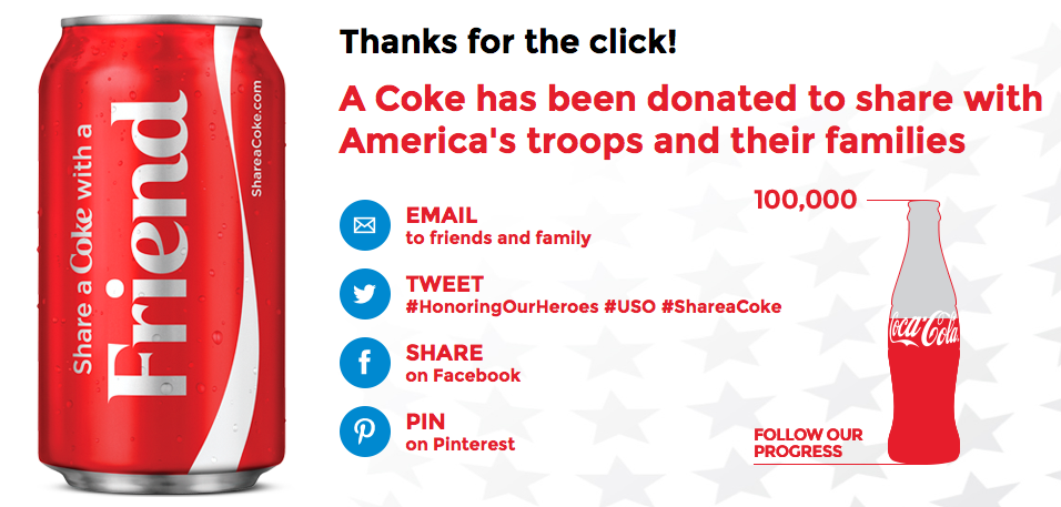 Honoring Our Heroes Coca-Cola