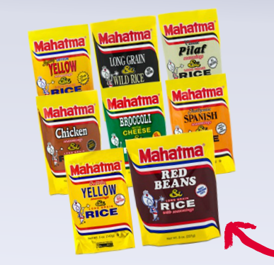 Commissary Deals Mahatma Rice