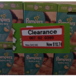 Target Deals for Pampers Diapers