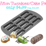 Wilton Twinkies Cake Pan www.militarywivessaving.com #homemadetwinkies