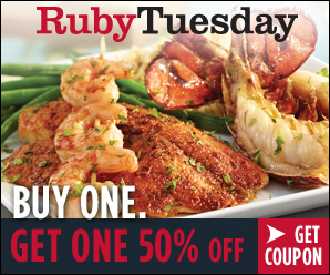 Ruby Tuesdays Coupons