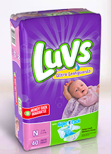 Commissary Deals Luvs Diapers
