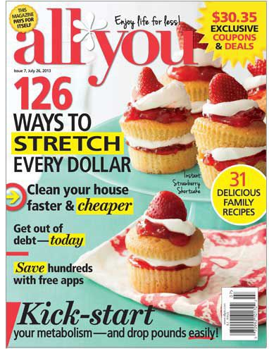 Free Issue of All You Magazine