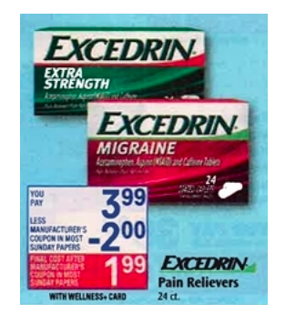 Excedrin Printable Coupons Deals