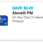 Commissary Deals Aleve PM Coupons