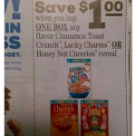Commissary Deals Lucky Charms Cinnamon Cheerios